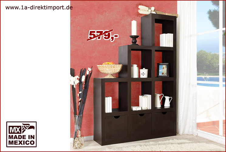 regal pinie massiv kolonial alle ideen ber home design. Black Bedroom Furniture Sets. Home Design Ideas