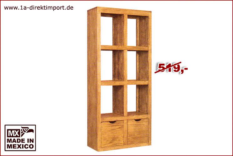 mexico raumteiler regal b cherregal pinie massiv massivholzm bel pinienholz ebay. Black Bedroom Furniture Sets. Home Design Ideas