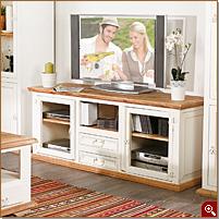 tv m bel weiss landhausstil preisvergleiche erfahrungsberichte und kauf bei nextag. Black Bedroom Furniture Sets. Home Design Ideas