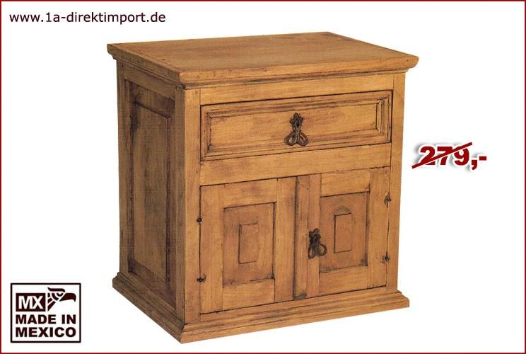 Kommode/Nachttisch - 2 Türen, 1 Schub