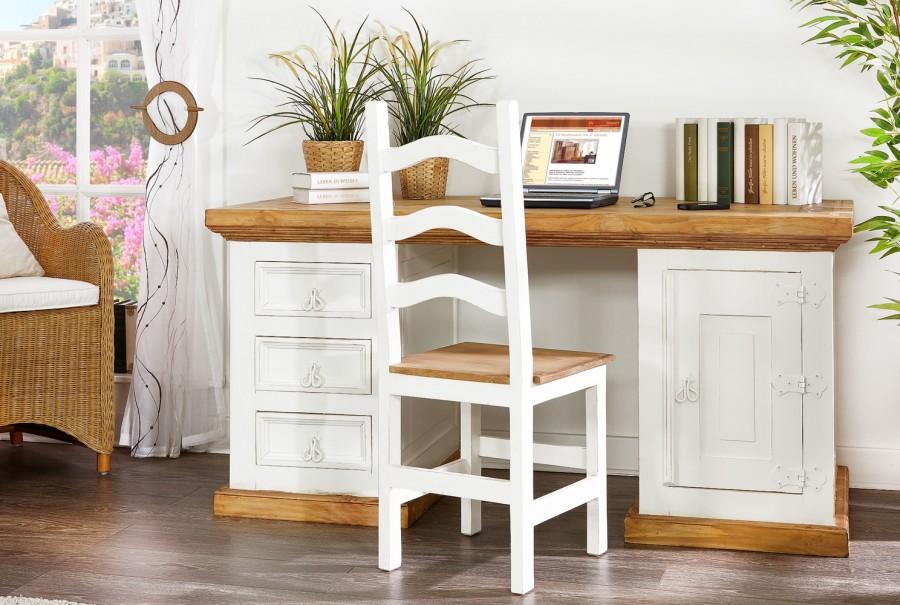 Schreibtisch - 1 Türe, 3 Schubladen