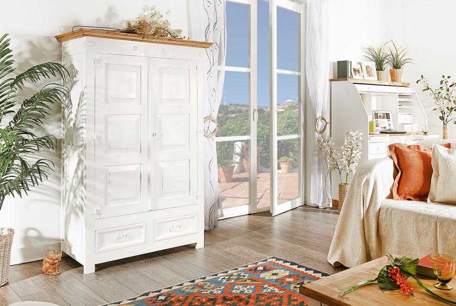 Wohnschrank - 2 Türen, 2 Schübe, 3 Böden