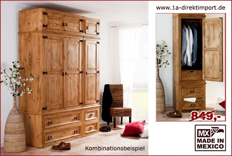 Kleiderschrank anbaubar - 1 Tür