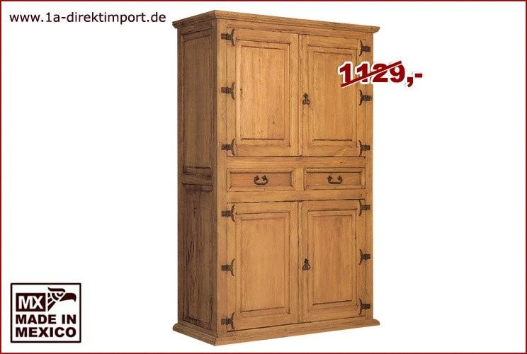 Wohnschrank - 4 Türen, 2 Schübe