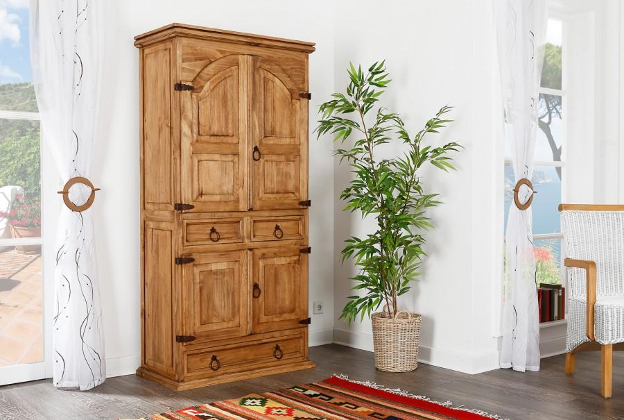 Wohnschrank - 4 Türen, 3 Schubladen