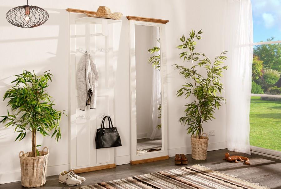Garderobe - Kleiderstange, 4 Haken