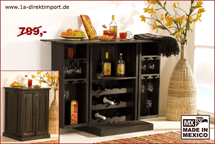 kolonialstil bar barschrank 2 dreht ren 1a direktimport. Black Bedroom Furniture Sets. Home Design Ideas