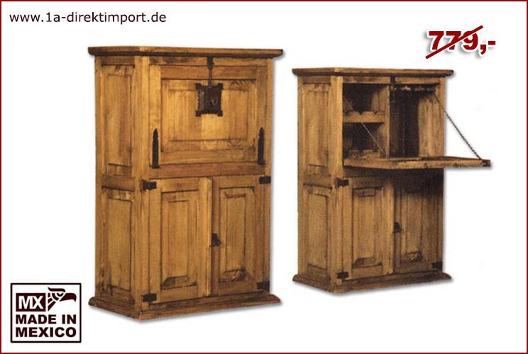 Barschrank - 1 Klappe, 2 Türen