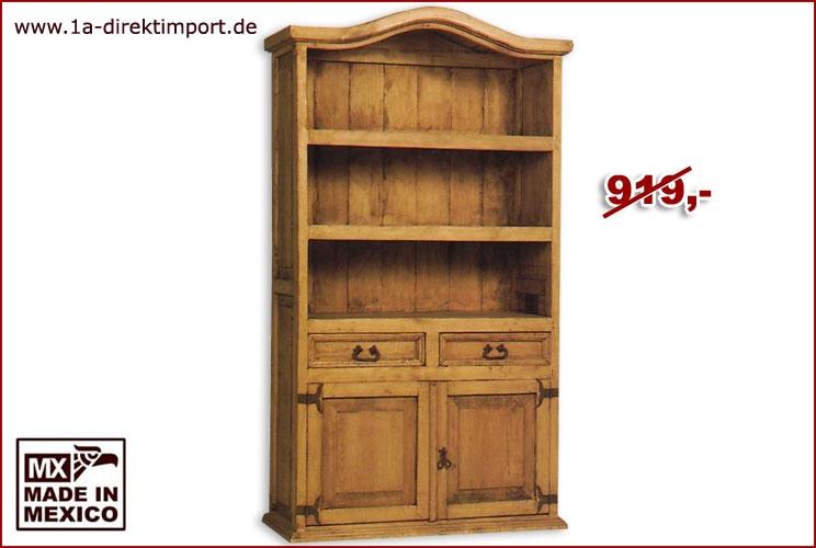 Bücherregal - 2 Türen, 2 Schübe