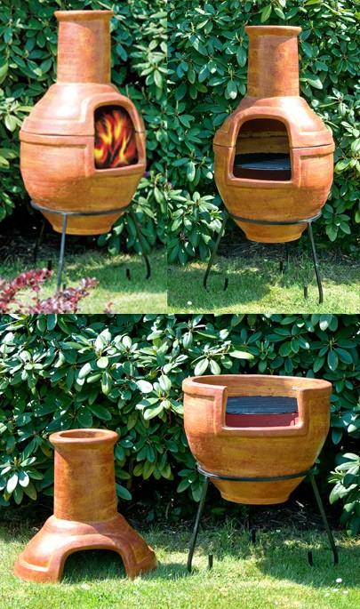 Ofen / Grill 'Barbacoa', terracotta