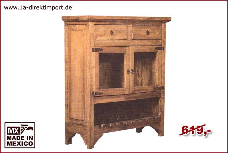 Barschrank - 2 Glastüren