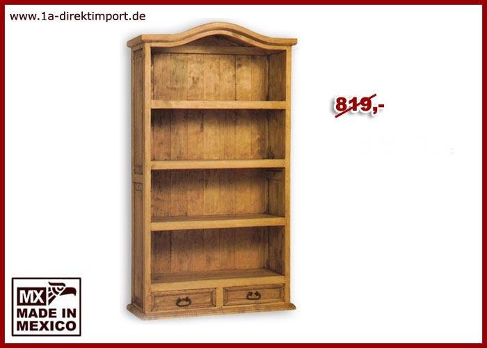 Bücherregal - 3 Böden, 2 Schubladen