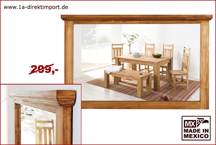 Wandspiegel 135x85cm