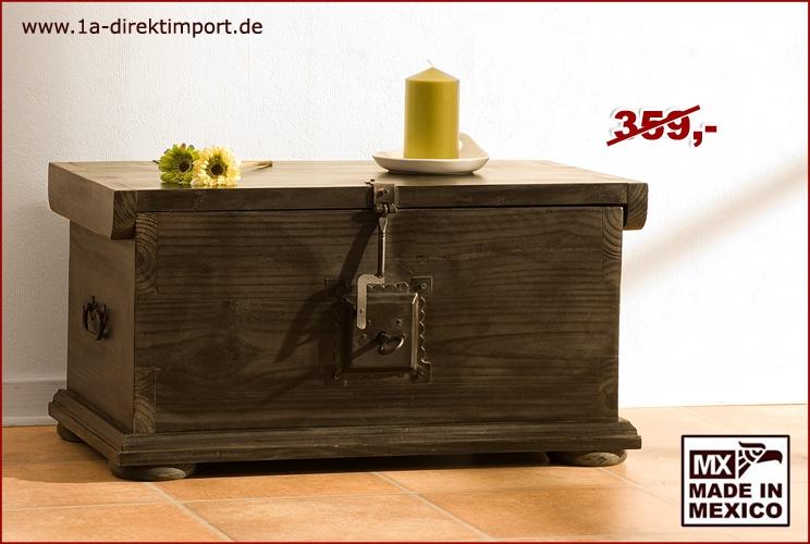 Couchtisch truhe 76cm kolonialstil 1a direktimport for Couchtisch truhe