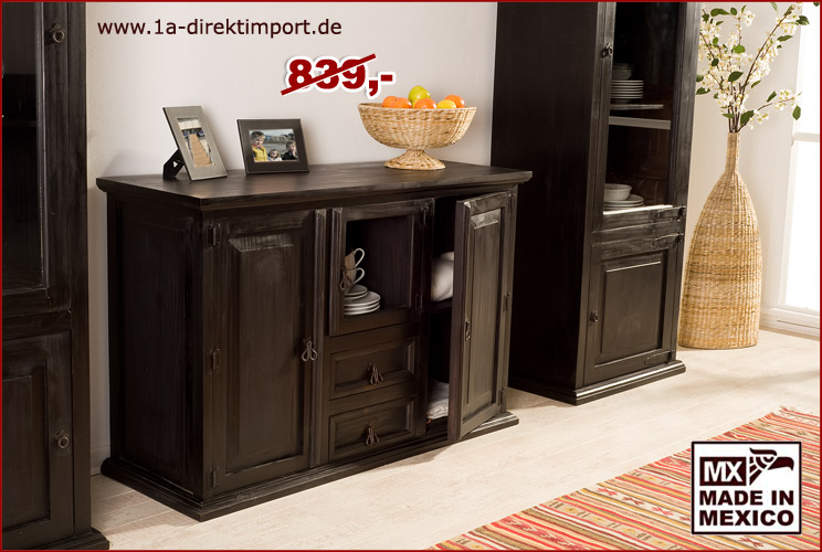 highboard 3 t ren 2 sch be 1a direktimport. Black Bedroom Furniture Sets. Home Design Ideas