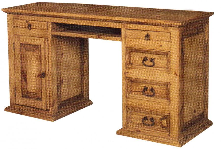 Schreibtisch - 1 Tür, 5 Schübe