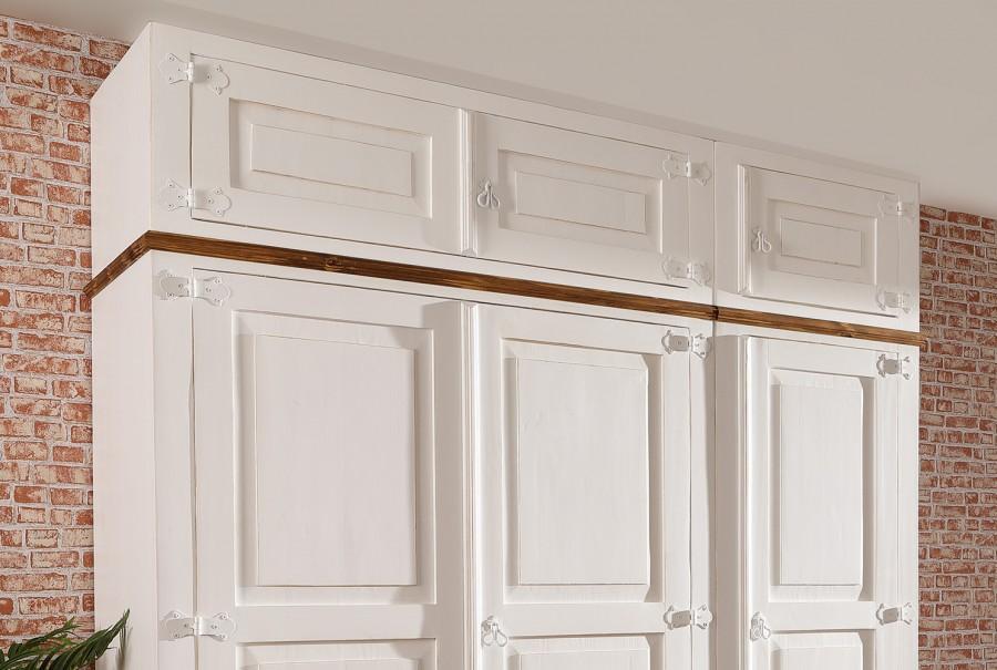 Kleiderschrank anbaubar - Aufsatz 1 Tür