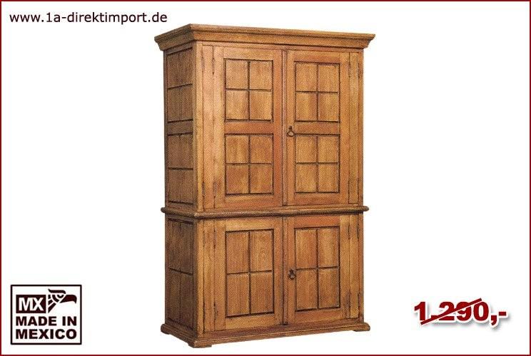 TV-Schrank, breit - 4 Türen