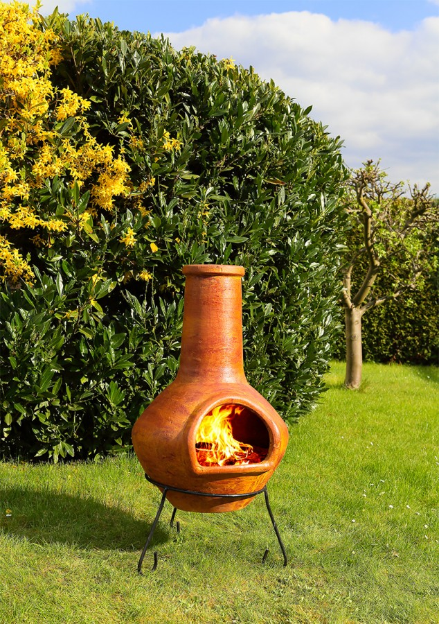 Ofen 'Bonito', terracotta