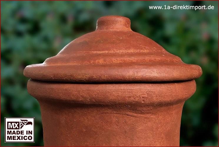 Ofendeckel für Maya, Tequila, Hacienda terracotta
