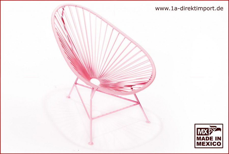 Acapulco Chair Kids - rosa/rosa