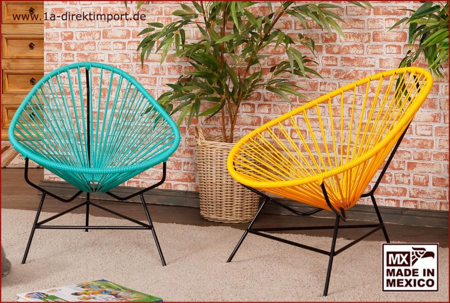 Acapulco Chair Kids - türkis/schwarz