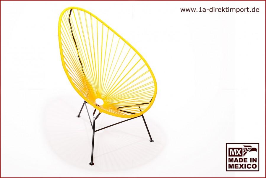 Acapulco Chair - gelb/schwarz