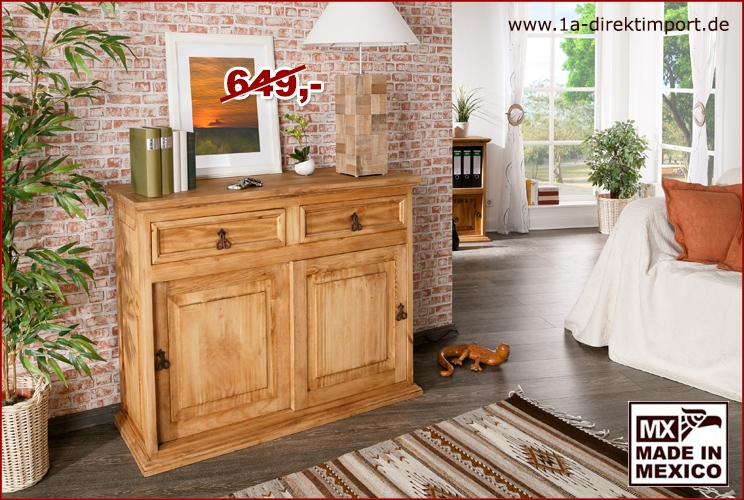 sideboard 2 schiebet ren 2 sch be 1a direktimport. Black Bedroom Furniture Sets. Home Design Ideas