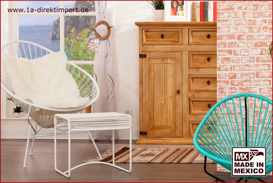 Acapulco Chair - weiß/weiß