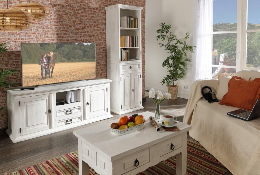 TV-Kommode - 2 Türen, 2 Schübe