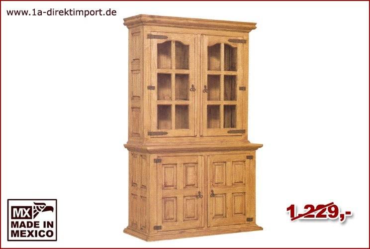 Buffet - 2 Glastüren, 2 Holztüren