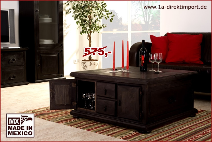 kolonialstil truhentisch mexico massiv 1a direktimport. Black Bedroom Furniture Sets. Home Design Ideas