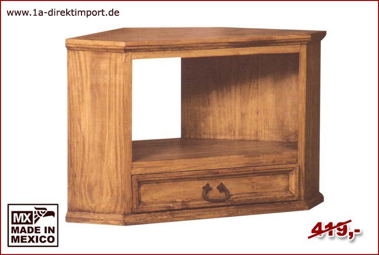 Eck-Kommode - 1 Schublade