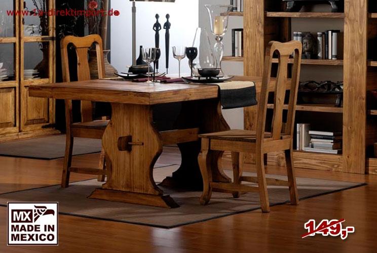 Stuhl geschwungen - Brettsitz