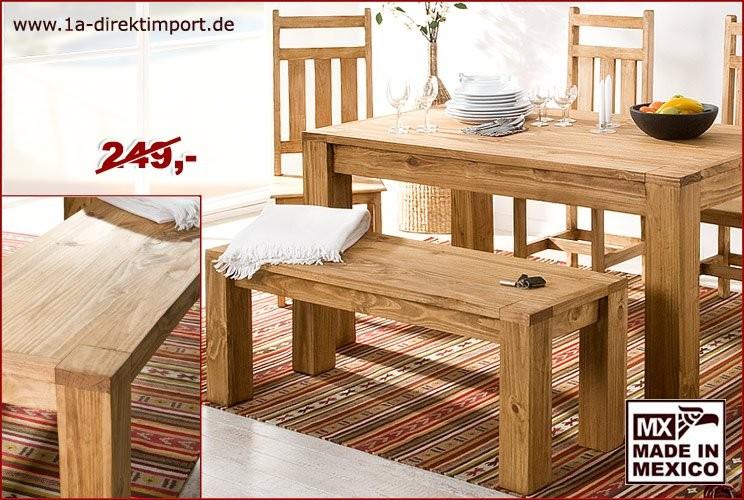 Sitzbank - XL-Beine, 127cm