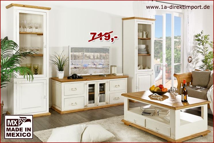 kommode mit glastren weiss lovely ideas weie kommode juliette landhaus pinie wei anrichte. Black Bedroom Furniture Sets. Home Design Ideas