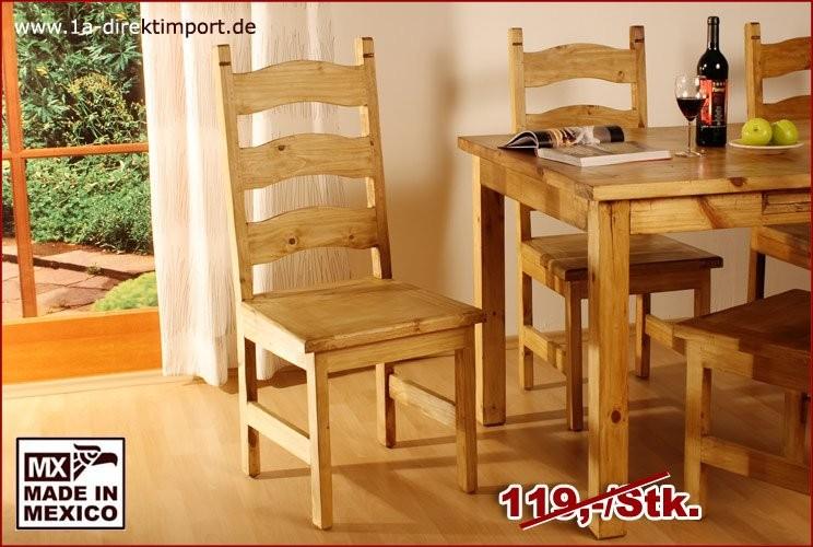 Stuhl - Brettsitz, ohne Querverstrebung