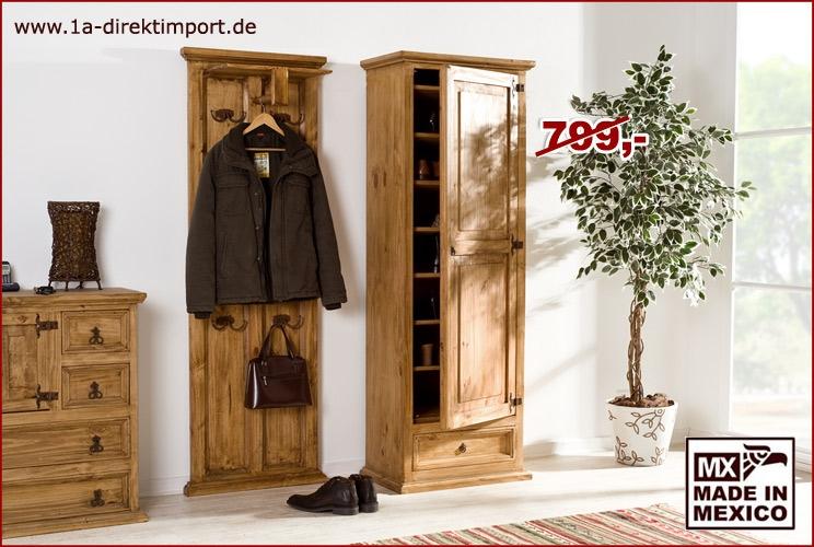 Schuhschrank - 1 Tür, 1 Schub