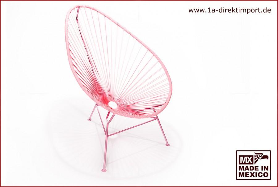 Acapulco Chair - rosa/rosa