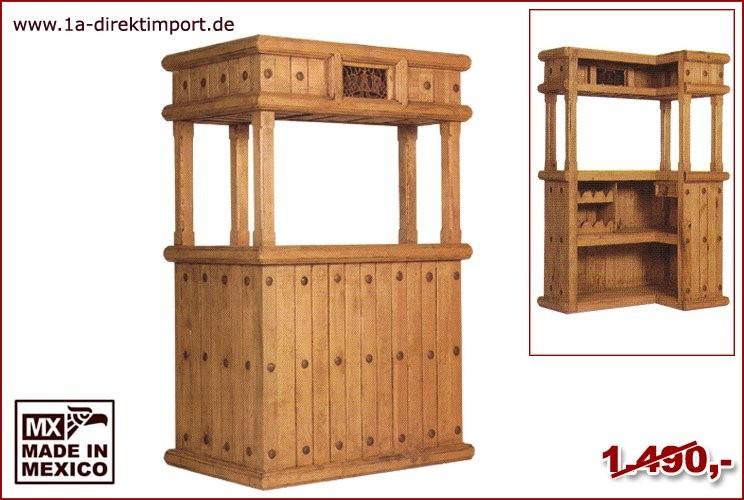 Bar - L-Form, 1 Schublade, Weinablagen