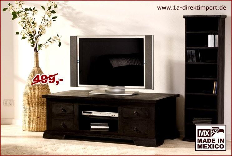 TV-Kommode/Couchtisch - 4 Schübe, 1 Boden