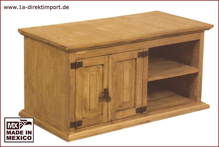 TV-Tisch - 2 Türen, 2 Fächer