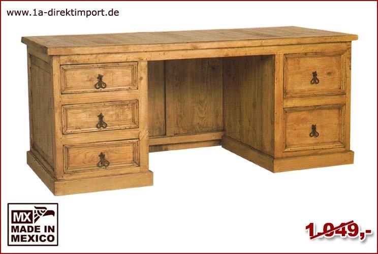 Schreibtisch - 5 Schubladen