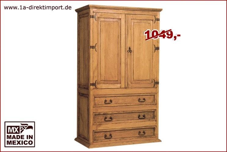 Wohnschrank - 2 Türen, 3 Schübe