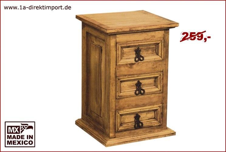 Kommode/Nachttisch - 3 Schübe